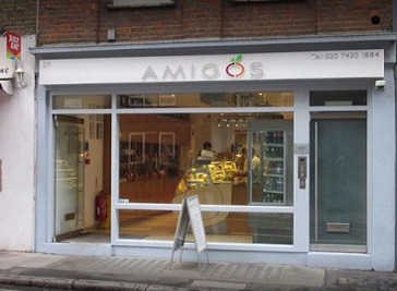 Amigo's sandwich bar